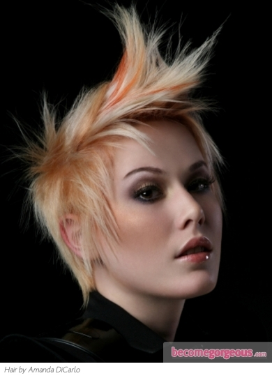 Cool Orange Hair Highlights Idea