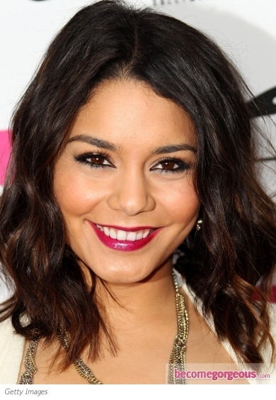 Vanessa Hudgens Berry Lips Makeup