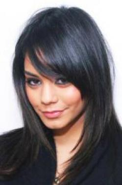 Vanessa Hudgens Hairstyles on Vanessa Hudgens With Sleek Hairstyle   Vanessa Hudgens Pictures