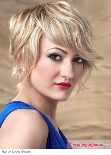 Chic Short Choppy Bob Hair Style