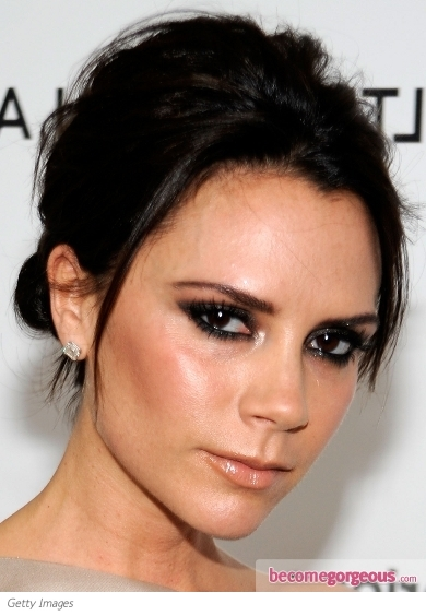 Victoria Beckham Smokey Eye Makeup