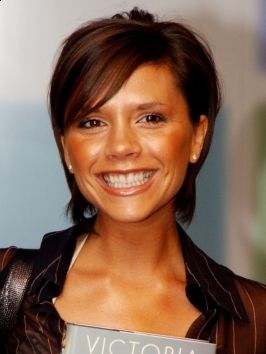 Victoria Beckham Short Layered Hairstyle
