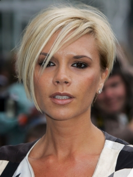 Victoria Beckham Graduated Bob Hairstyle