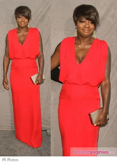Viola Davis in Raoul Wallis Dress