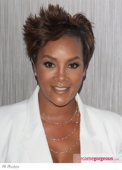 Vivica A Fox's Short Pixie Hairstyle