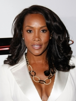 Vivica A Fox's short pixie haircut gives her a strong, edgy look. Lots of pieced-out texture gives the look a fresh feel.