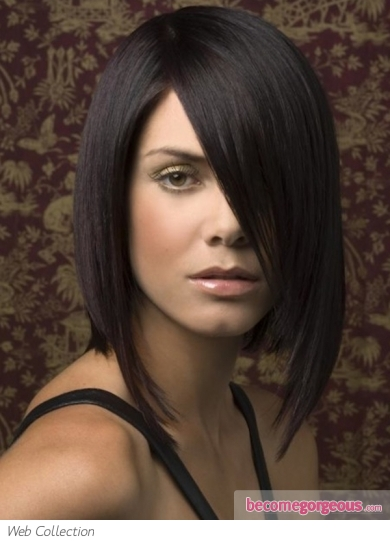 Voguish Long Bob Hair Style