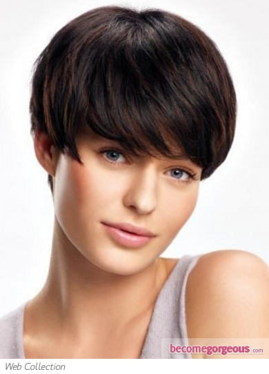 Flirty Short Pixie Haircut