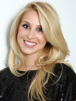 A few twists of a curling iron is all it takes to give long hair a super-pretty update. Take a cue from Whitney Port's extra-long boho waves and part hair down the middle before blow-drying smooth. Wind sections around a vertically held curling iron and break up waves with fingers when cool.