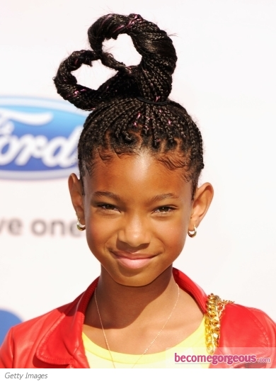 Willow Smith Hairstyle 2011 BET Awards