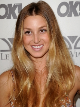 Whitney Port Ombre Hair Color