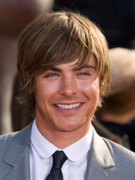Zac Efron Shaggy Haircut