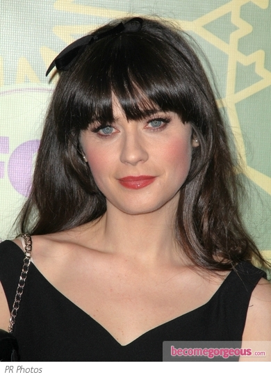 Zooey Deschanel Hairstyle with Headband