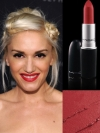 MAC Ruby Woo Lipstick on Gwen Stefani