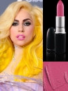 MAC Pink Nouveau Lipstick on Lady Gaga