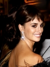 Penelope Cruz High Ponytail Hairstyle