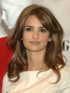 Penelope Cruz's Hair with Golden Highlights