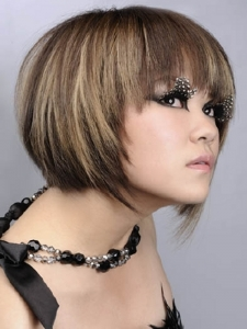 Medium Layered Bob Hair Style