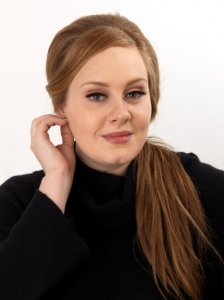 Adele's 60s Sleek Ponytail