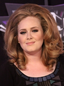 Adele's Big Curly Hairstyle