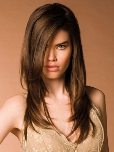 Classy Long Layered Hair Style