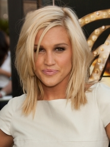 Ashley Roberts Medium Layered Hairstyle