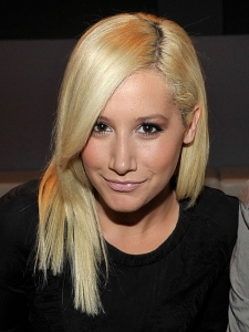 Ashley Tisdale Platinum Blonde Hair Color