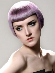 Party-Perfect Purple Hair Color Idea