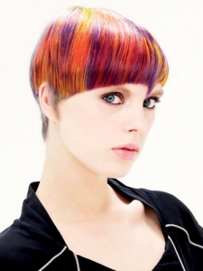 Colorful Hair Style Idea