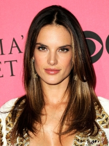 Alessandra Ambrosio Subtle Golden Highlights