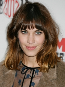 Alexa Chung's Shoulder-Length Hair with Fringe