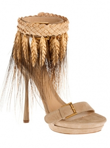 Alexander McQueen Wheat Pumps