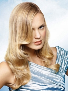 Glam Long Retro Hair Style