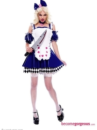Wicked Wonderland Alice Costume