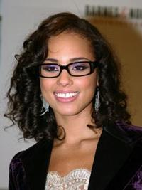 Alicia Keys Curly Hairstyle