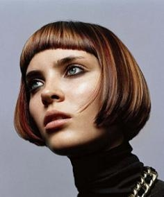 Short A Line Bob Hairstyle
