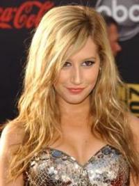 Ashley Tisdale Beach Waves Hairstyle