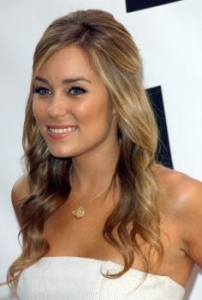 Lauren Conrad Half Up Half down Hairstyle