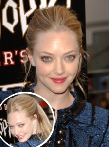 Amanda Seyfried Glam Ponytail