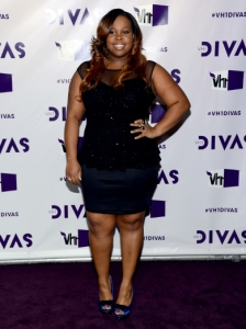 Amber Riley's Outfit at 2012 VH1 Divas