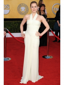 Amy Adams in Herve Leroux