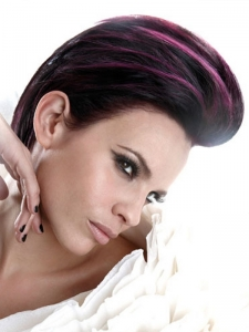 Fab Purple Hair Highlights