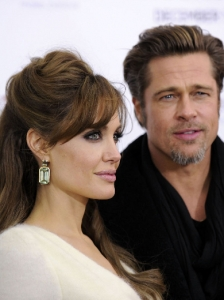 Angelina Jolie and Brad Pitt : Knox and Vivienne