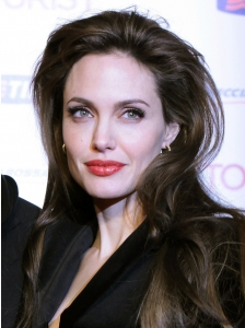 Angelina Jolie Voluminous Hairstyle
