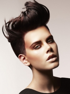 Amazing Short Mohawk Haircut