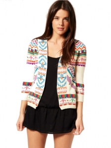 Antik Batik Embroidered Beach Cover Up Cardigan