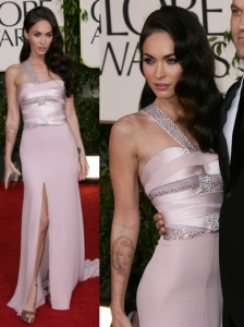 Megan Fox in Armani Prive Gown