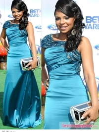 Ashanti in Jean Fares Couture Gown