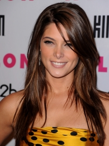 Ashley Greene Long Hairstyle with Highlights