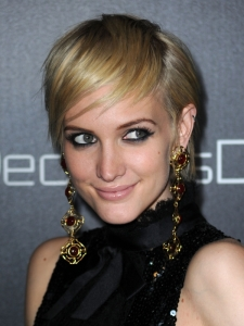 Ashlee Simpson Short Pixie Hairstyle